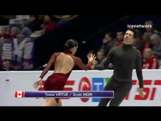 Ice Dance Free Dance Warm-up Group 2 - Skate Canada International 2017