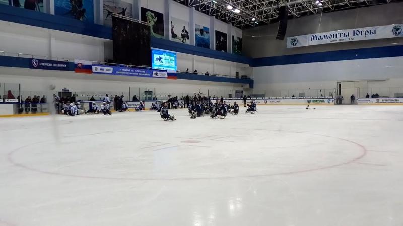 Следж-Хоккей. Белые Медведи (Москва) VS Югра' (ХМАО)