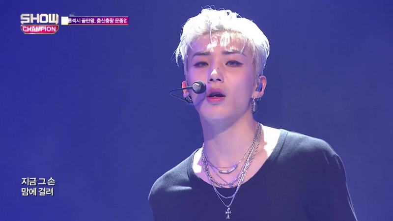 [170614] JongUp {B.A.P} - Try My Luck (Show Champion Live EP.232) [HD]