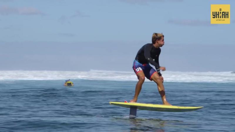 У Пуерто Рико винайшли електромоторну дошку для серфінгу яка літає над водою