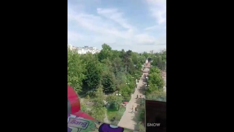 Вид с окна на Парк Арлекин☆