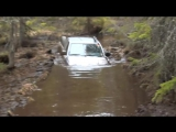 Toyota Hilux extreme offroad