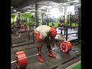 Кевин Оук - тяга 370 кг