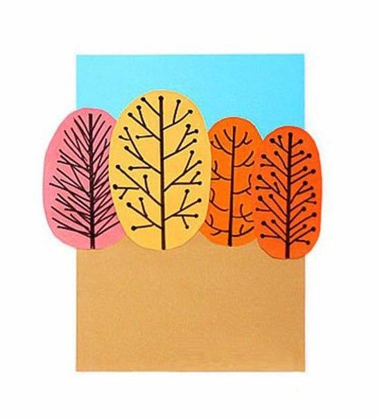 Осеннее творчество с детьми