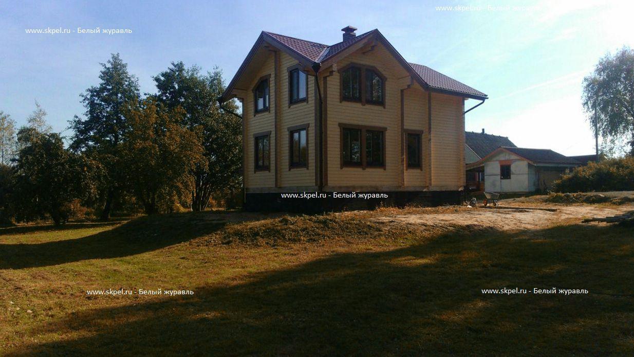Дом из бруса в Кобыльем городище