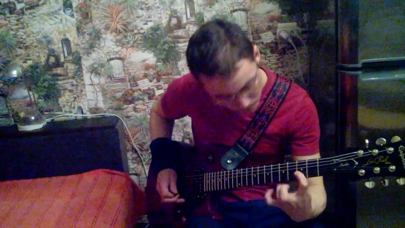 Ravshan Tashpulatov - Jump In The Fire 1st solo (Metallica cover1)