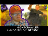 Nightcrawler Teleportation Effect - After Effects Tutorial