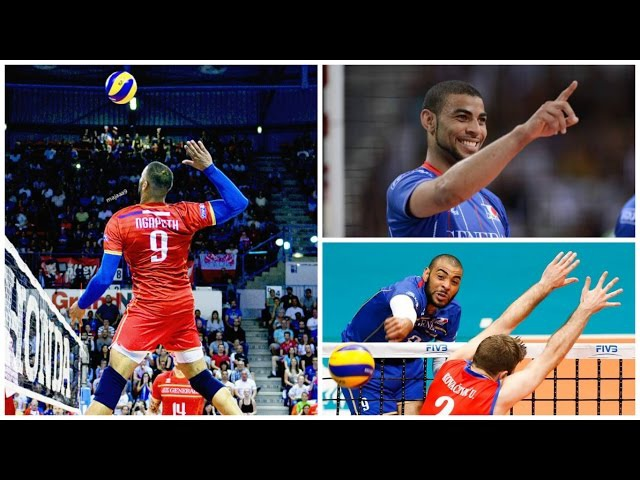 Earvin N'Gapeth Top 10 Volleyball Attack on Line | Powerful Spike [VM]