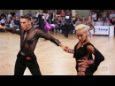 Marius Andrei Balan Khrystyna Moshenska danceComp Wuppertal 2017 WDSF WO LAT R2 S