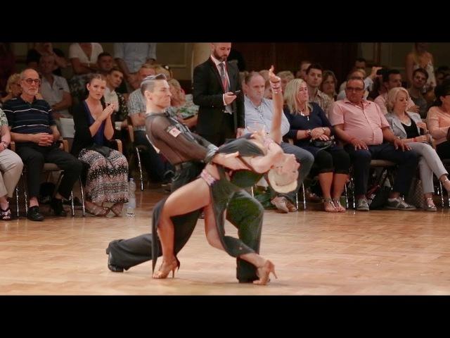 Marius Andrei-Balan - Khrystyna Moshenska | danceComp Wuppertal 2017 - WDSF WO LAT - SF PD