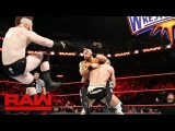 Cesaro &amp Sheamus vs. Luke Gallows, Karl Anderson, Enzo Amore &amp Big Cass Raw, March 20, 2017