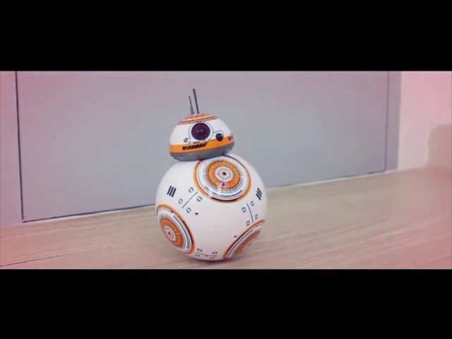 Star Wars!BB 8 Planet Boy with Sound 2 4GHz RC Robot
