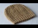 Как связать шапку спицами Схема узора