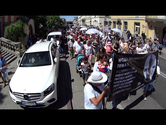 Dość kłamstw - urzędnicy kontra ulica. Protest STOP NOP.
