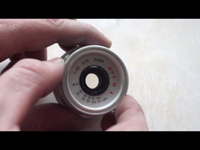 Т-43 объектив от Смена-8М : ставим на беззеркалку с помощью одной детальки.