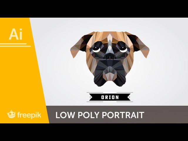 How to create a Low Poly vector animal in Adobe Illustrator - Carlos Behrens | Freepik