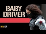 Captain America The Winter Soldier - (Baby Driver Style)