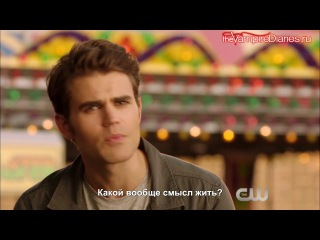 The Vampire Diaries 8x05 Extended Promo - Coming Home Was a Mistake [Русские субтитры]
