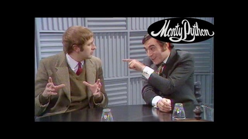 The Man Who Says Things In A Very Roundabout Way - Monty Python's Flying Circus