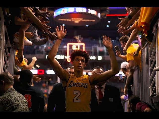 Lonzo Ball Completes A Near Triple Double in Lakers Win   29 Points, 11 Rebounds, 9 Assists