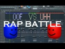 OOF vs UHH - MIDI Art (RAP BATTLE)