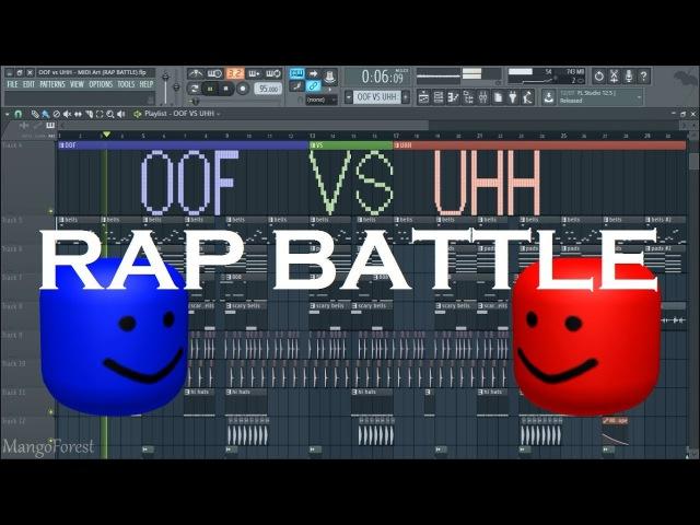 OOF vs UHH - MIDI Art (RAP BATTLE)