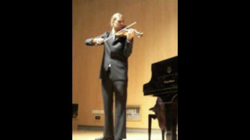DAVID GARRETT - Brahms - Violin Sonata n°3 in D minor op.108 - mvt I -