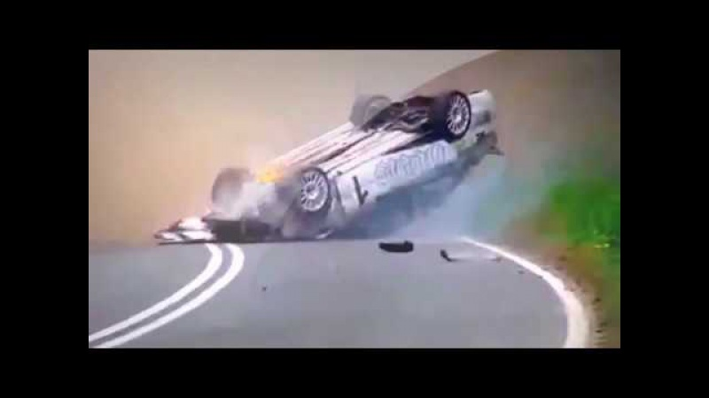 Несколько реально жестких аварий на гонках.