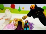 Мультик #Барби. ВЕЧЕРИНКА ХЭЛЛОУИН: Кен и Кевин пугают кукол Барби! Игры Барби дл ...