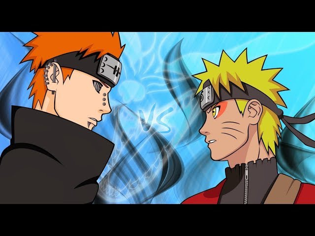 AMV. Naruto vs Pain.