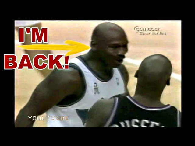 Michael Jordan vs Bryon Russell - Do You Remember Me? Their 1st Meeting Since The Last Shot!
