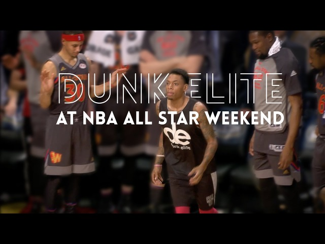 JAWS DROPPED!! Dunk Elite at the 2017 NBA All Star Weekend