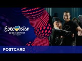 Postcard of Valentina Monetta &amp Jimmie Wilson from San Marino - Eurovision Song Contest 2017