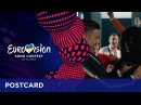 Postcard of Francesco Gabbani from Italy Eurovision Song Contest 2017