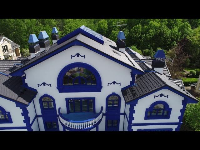 Дом в стиле гжель выставлен на продажу в Мытищах