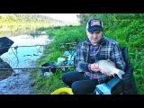 Река Ока.  Ловля рыбы на донную снасть фидер - С Рыбалкой на Ты! выпуск №39