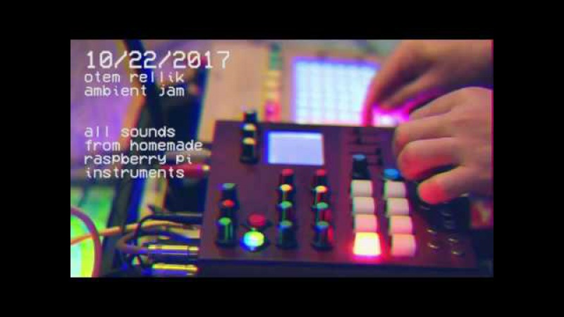 Ambient Jam with Raspberry Pi Boxes