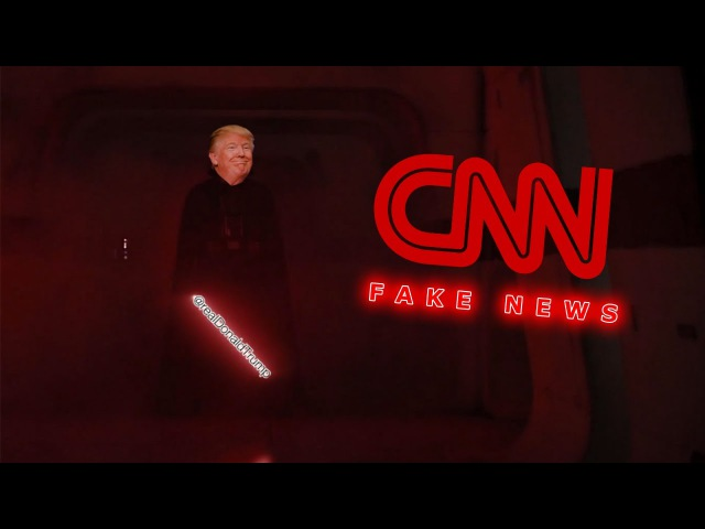 CNNMemeWar - Trump Vader vs The CNN Alliance (FAKE NEWS)