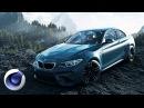 Создание эффектной 3D-композиции с автомобилем BMW в Cinema 4D. Часть 1 из 2.