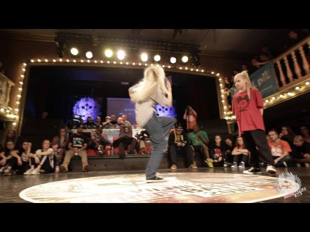 Hip Hop Kids 1vs1 Final 1st place Atene win vs Liepa @Vilnius Street Battle 2016