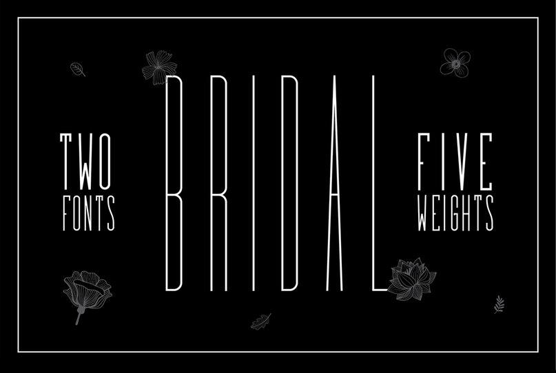 Bridal шрифт скачать бесплатно