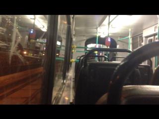 Трамвай Санкт-Петербурга ЛВС 86К 8040 по маршруту №52