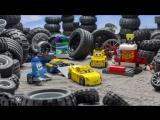 LEGO Juniors 10731 Гоночный тренажёр Крус Рамирес и LEGO Juniors 10732 Пит-стоп Гвидо и Луиджи