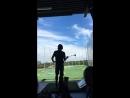 Джаред с друзьями играет в гольф в Остине из истории музыканта Мэтью Миллера на Инстаграме