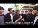 [RUS SUB][25.05.17] BTS Interview @ BBMAs Magenta Carpet