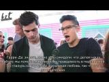 Shine On Media (TCA) Matthew Daddario &amp Harry Shum Jr RUS SUB HS