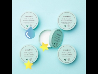 New Innisfree No-Sebum Moisture Powder
