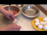 Мраморные яйца на Пасху. Как покрасить яйца к Пасхе.