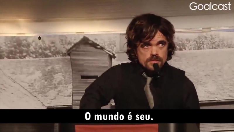 Discurso emocionante de Peter Dinklage, nosso querido Tyrion Lannister - Got Brasil VK