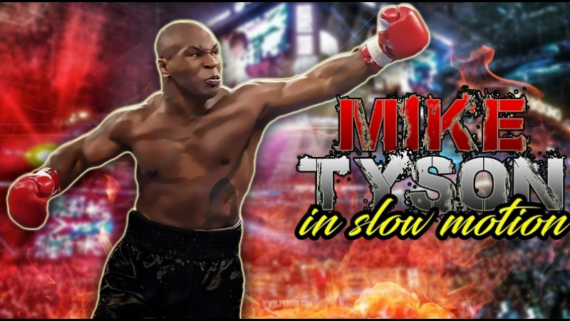 Mike Tyson - In Slow Motion Highlights